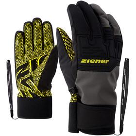 Ziener Garim AS Alpine Skiing Gloves, negro/gris